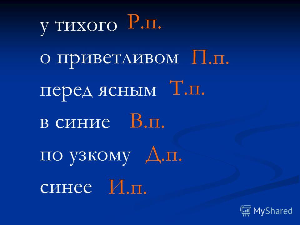 у тихого о приветливом перед ясным в синие по узкому синее Р.п. П.п. Т.п. В.п. Д.п. И.п.