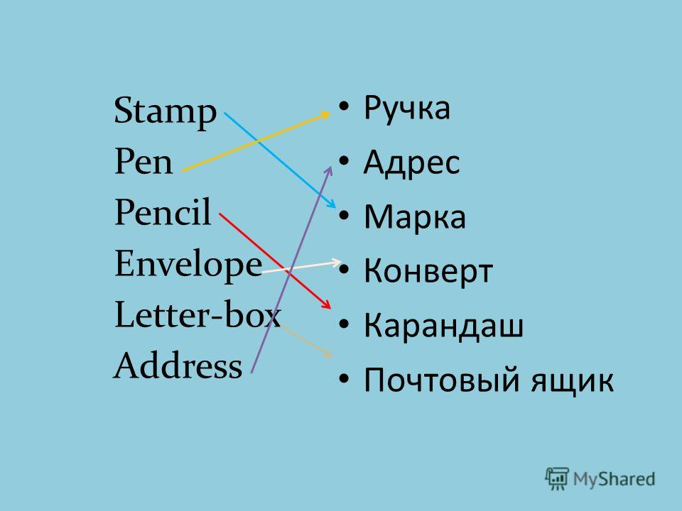 Ручка Адрес Марка Конверт Карандаш Почтовый ящик Stamp Pen Pencil Envelope Letter-box Address