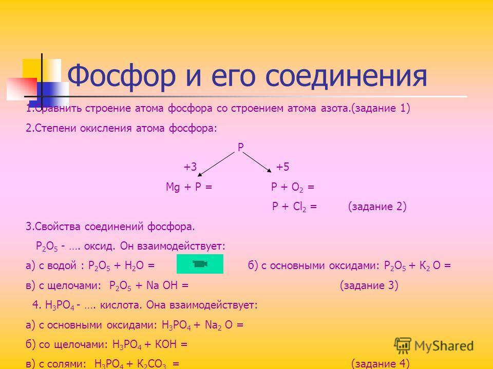Кислородные соединения азота Оксиды: N 2 O и NO –несолеобразующие оксиды N 2 O 3 – азотистая кислота ( HNO 2 ); N 2 O 5 – азотная кислота (HNO 3 ) 2NO 2 +H 2 O = HNO 2 + HNO 3 Свойства азотной кислоты. ВЗАИМОДЕЙСТВИЕ С МЕТАЛЛАМИ. Ни один из металлов