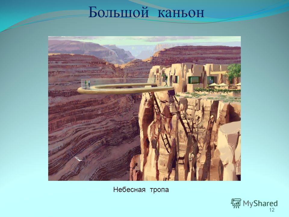 12 Большой каньон Небесная тропа