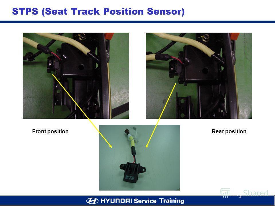 STPS (Seat Track Position Sensor) Front positionRear position
