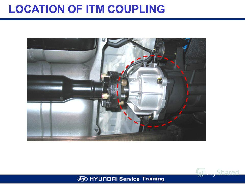 LOCATION OF ITM COUPLING