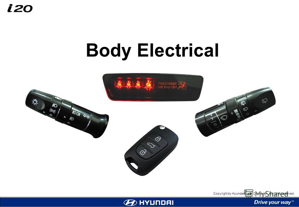 Copyright by Hyundai Motor Company. All rights reserved. Body Electrical