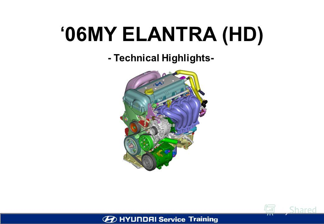 06MY ELANTRA (HD) - Technical Highlights-