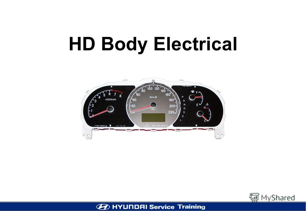HD Body Electrical