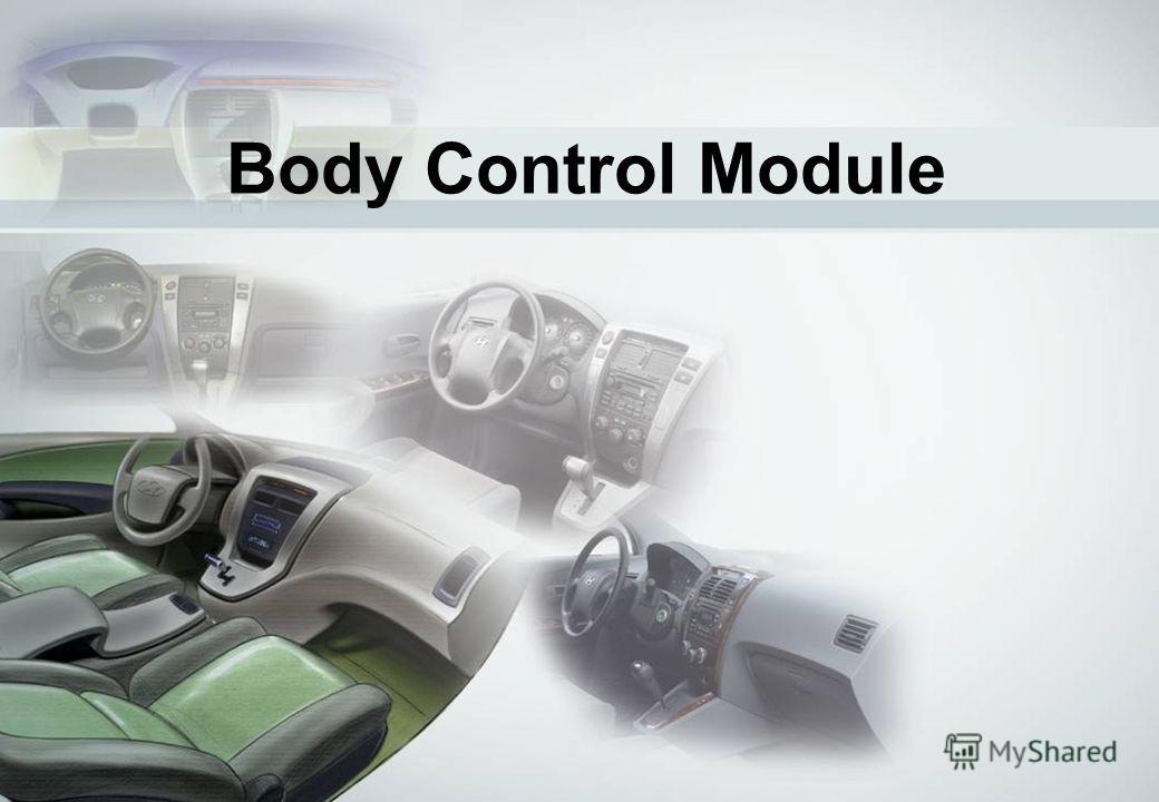 2 Body Control Module