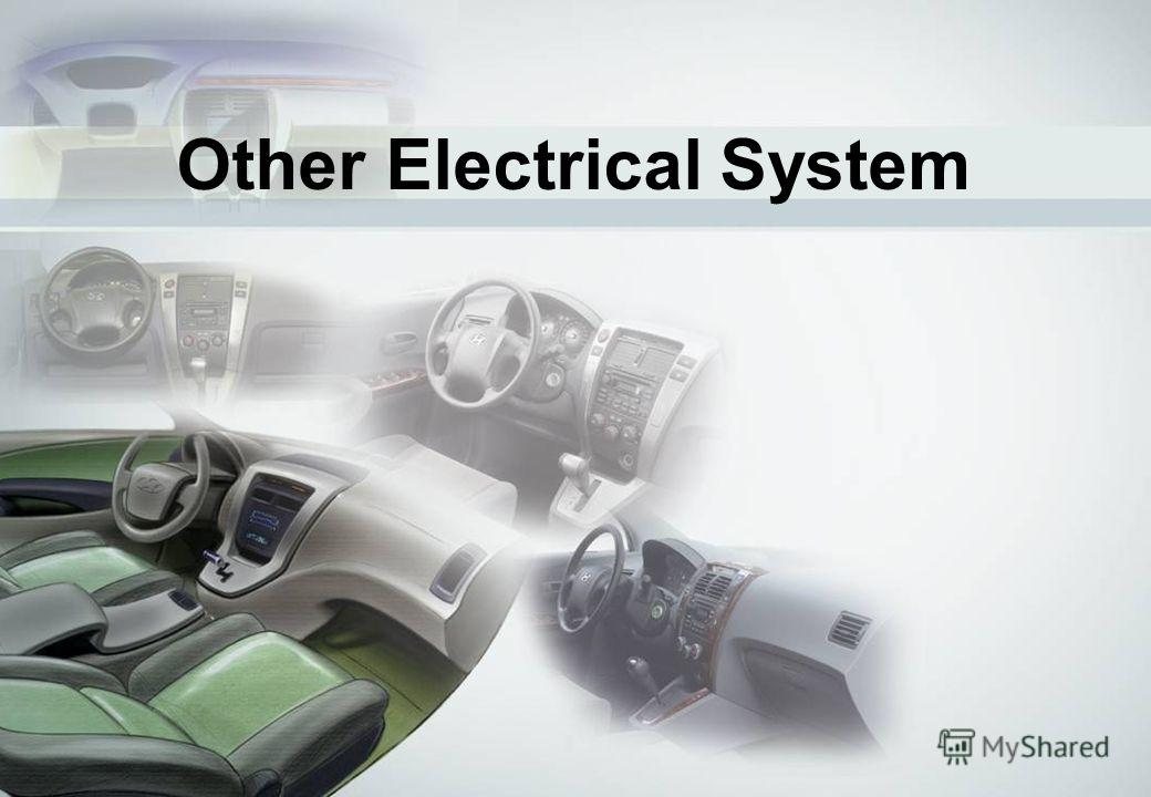 32 Other Electrical System