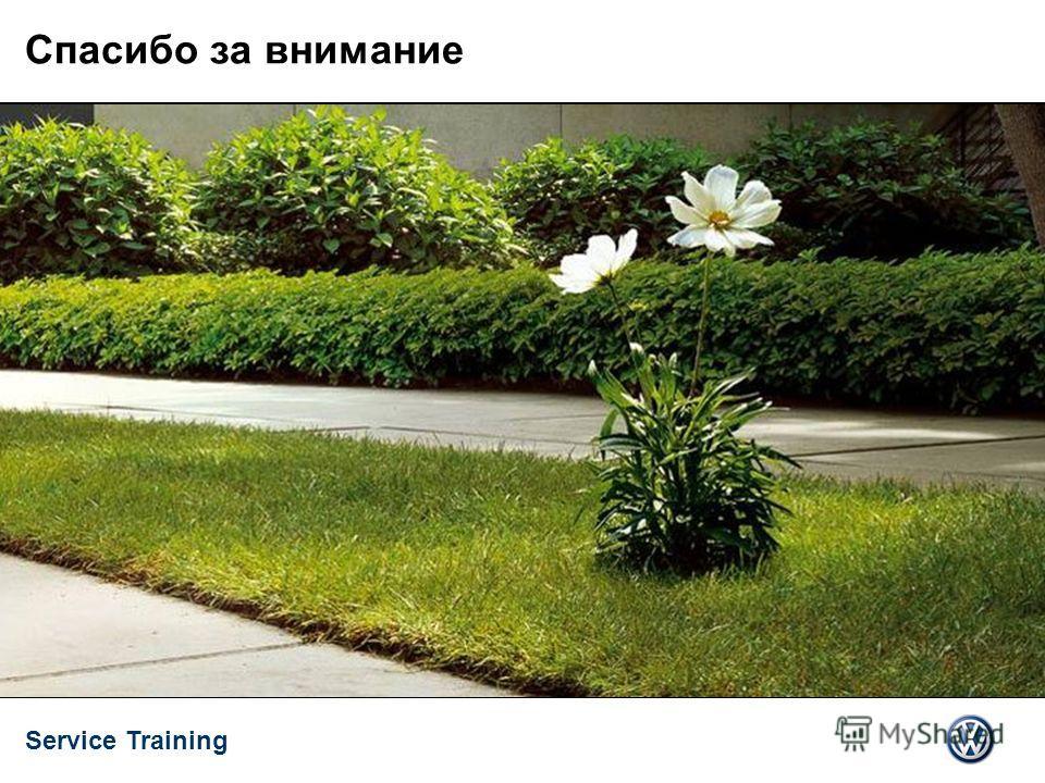 Service Training 10.2008 VSQ/TT 17/17 Спасибо за внимание