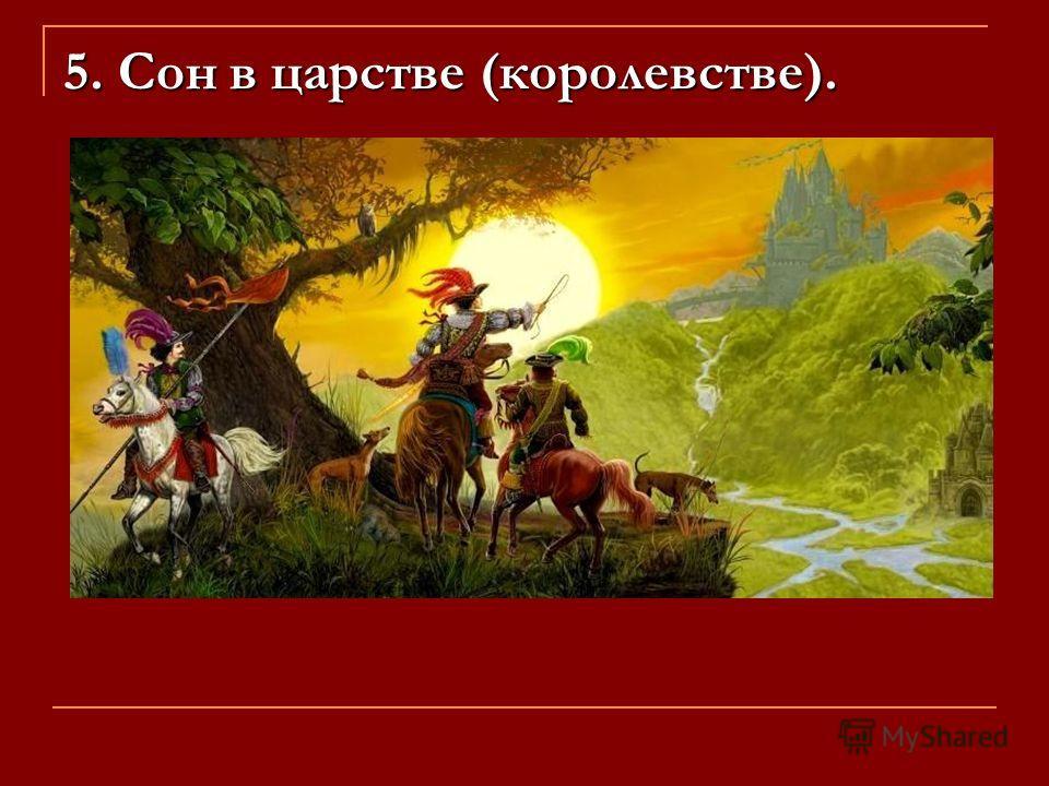 5. Сон в царстве (королевстве).