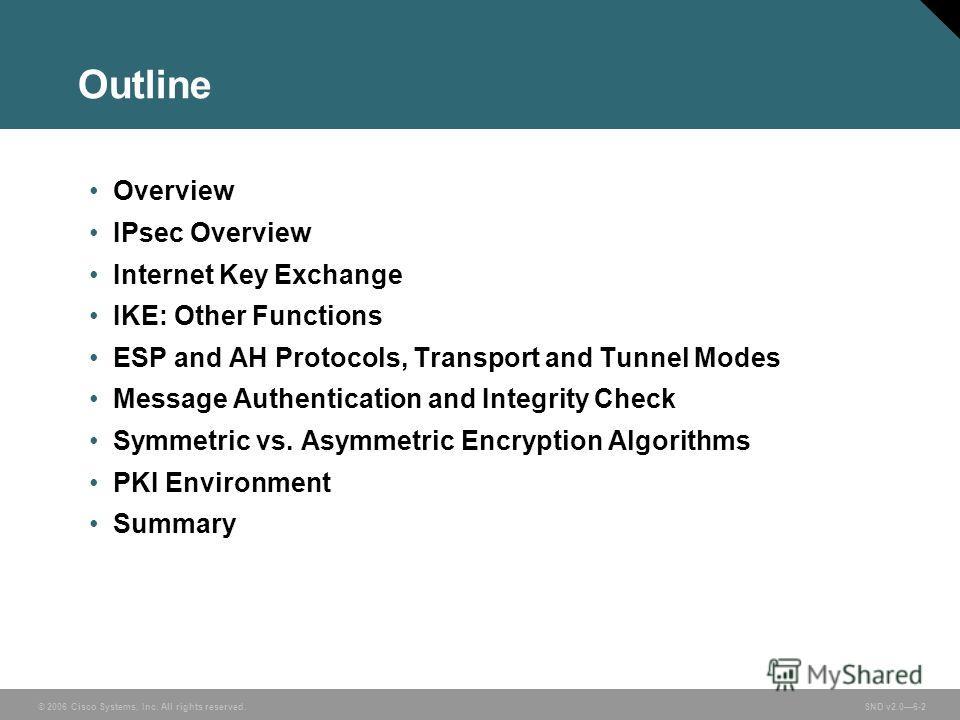 overview on ipsec