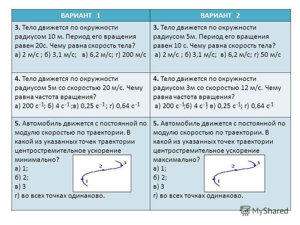Криволинейное движение Равномерное движение точки
