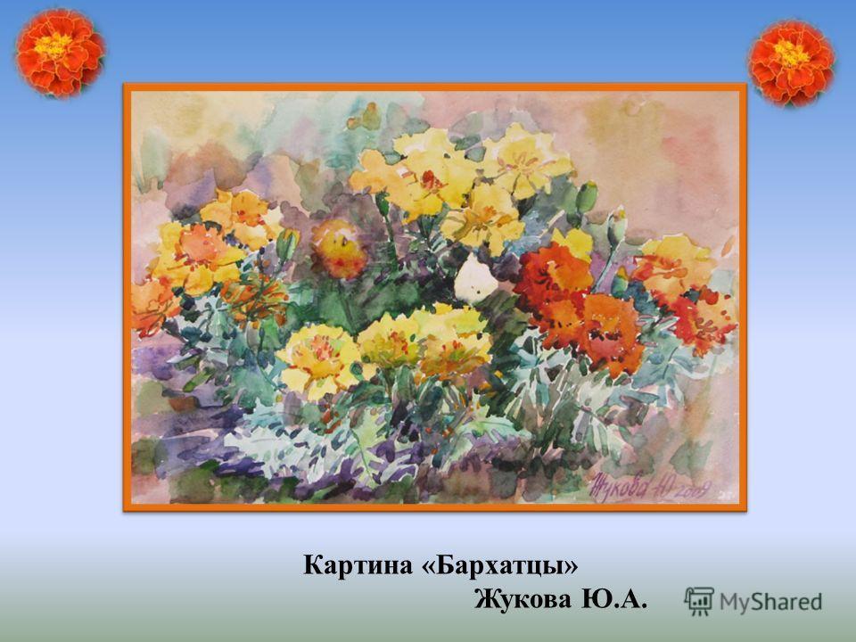 Картина «Бархатцы» Жукова Ю.А.