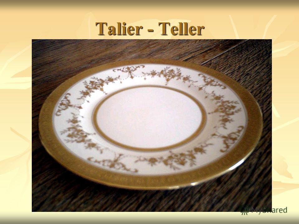Talier - Teller