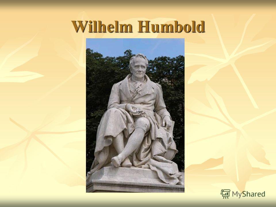 Wilhelm Humbold