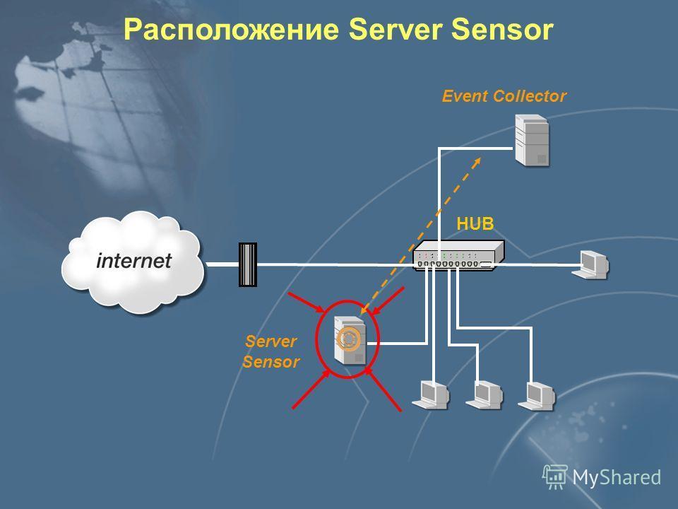 Расположение системного агента OS Sensor Event Collector