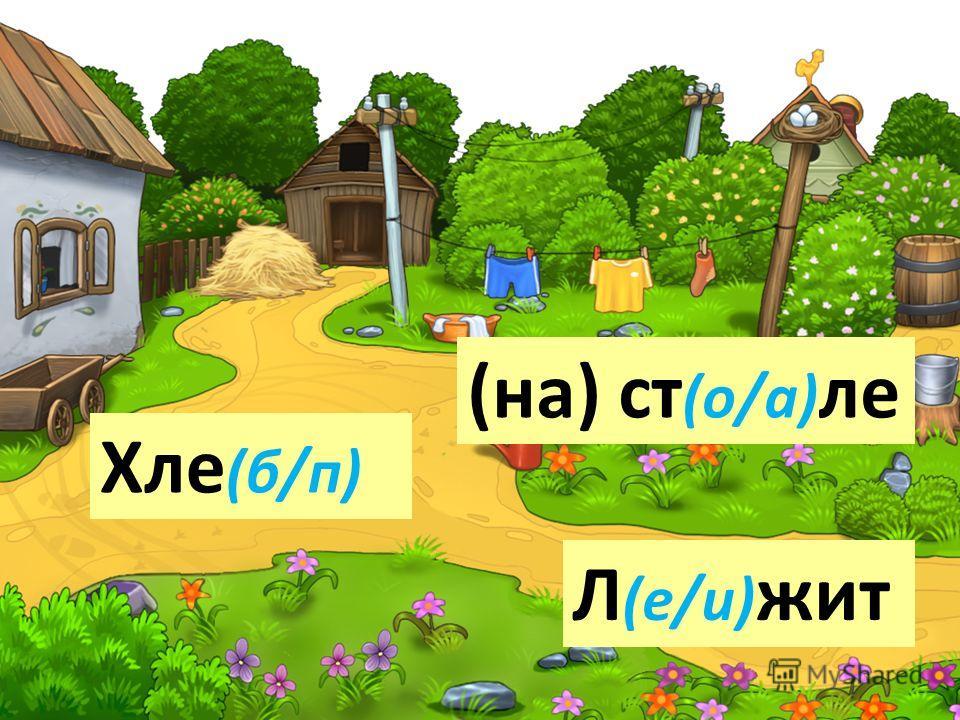 Хле (б/п) Л (е/и) жит (на) ст (о/а) ле