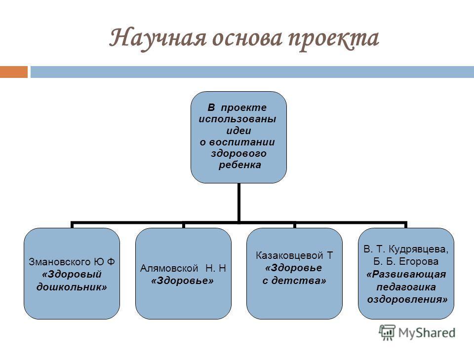 Научная основа проекта