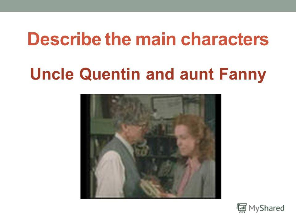 Describe the main characters Anne and George