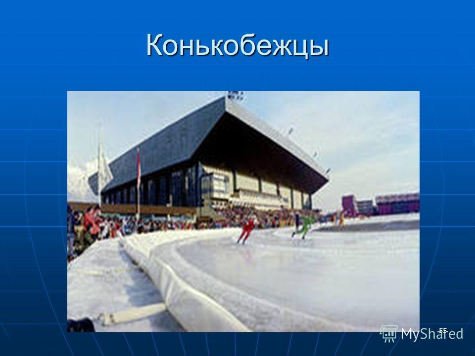 Конькобежцы 55