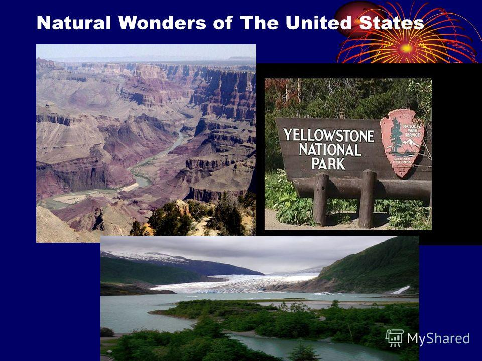 Natural Wonders of The United States