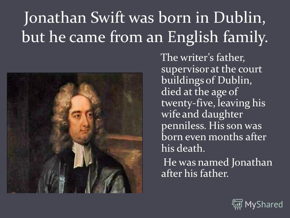 jonathan swift biography