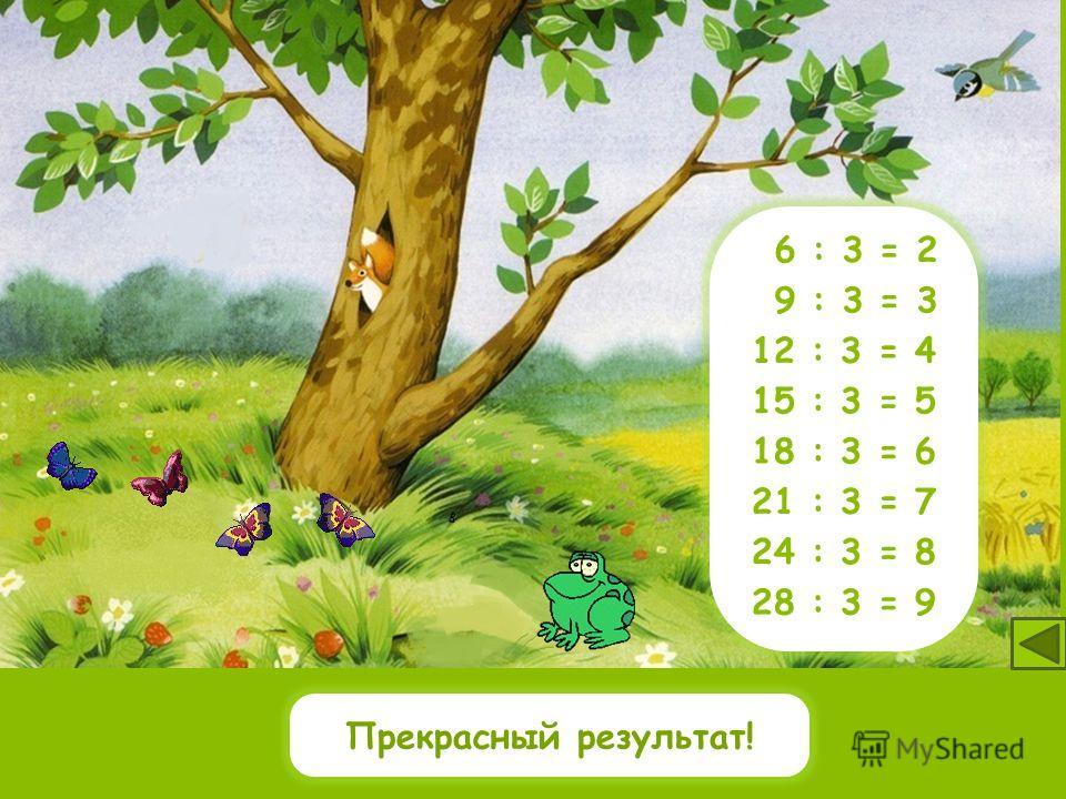 1518 16 2127 322420610 12 14 9 : 3 = 3 12 : 3 = 4 15 : 3 = 5 18 : 3 = 6 21 : 3 = 7 24 : 3 = 8 27 : 3 = 9 6 : 3 = 2 Какие числа делятся на 3? 9