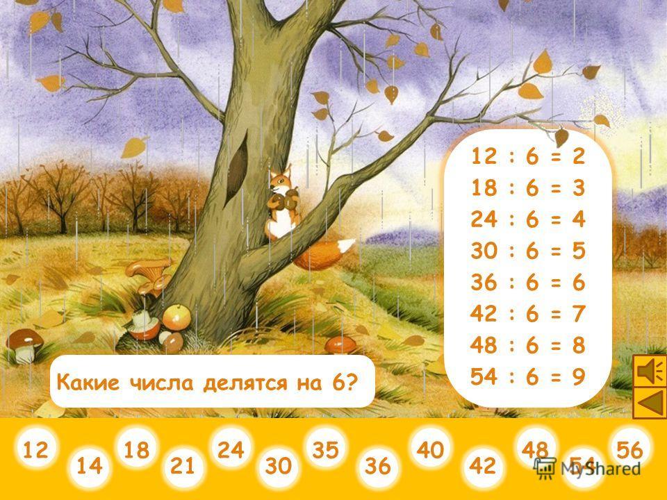 21 : 7 = 3 28 : 7 = 4 35 : 7 = 5 42 : 7 = 6 49 : 7 = 7 56 : 7 = 8 63 : 7 = 9 14 : 7 = 2 Прекрасный результат!