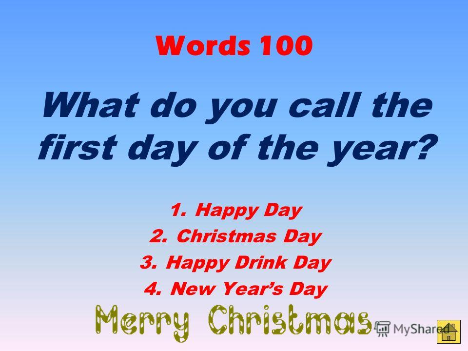 Funny facts 400 Are Christmas trees edible? 1. Only after 5 hours of boiling 2. Only some parts 3. No 4.Yes