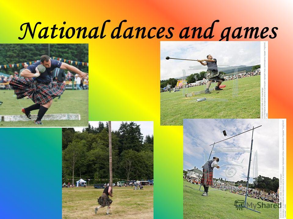 National dances and games 19