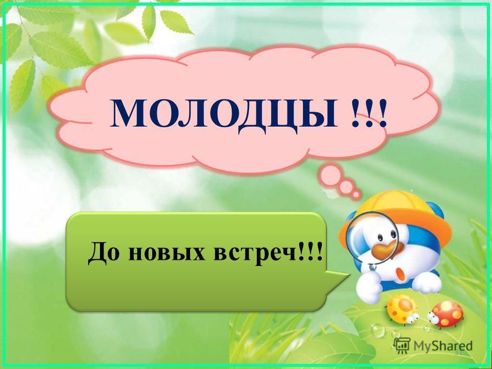 МОЛОДЦЫ !!! До новых встреч!!! 31