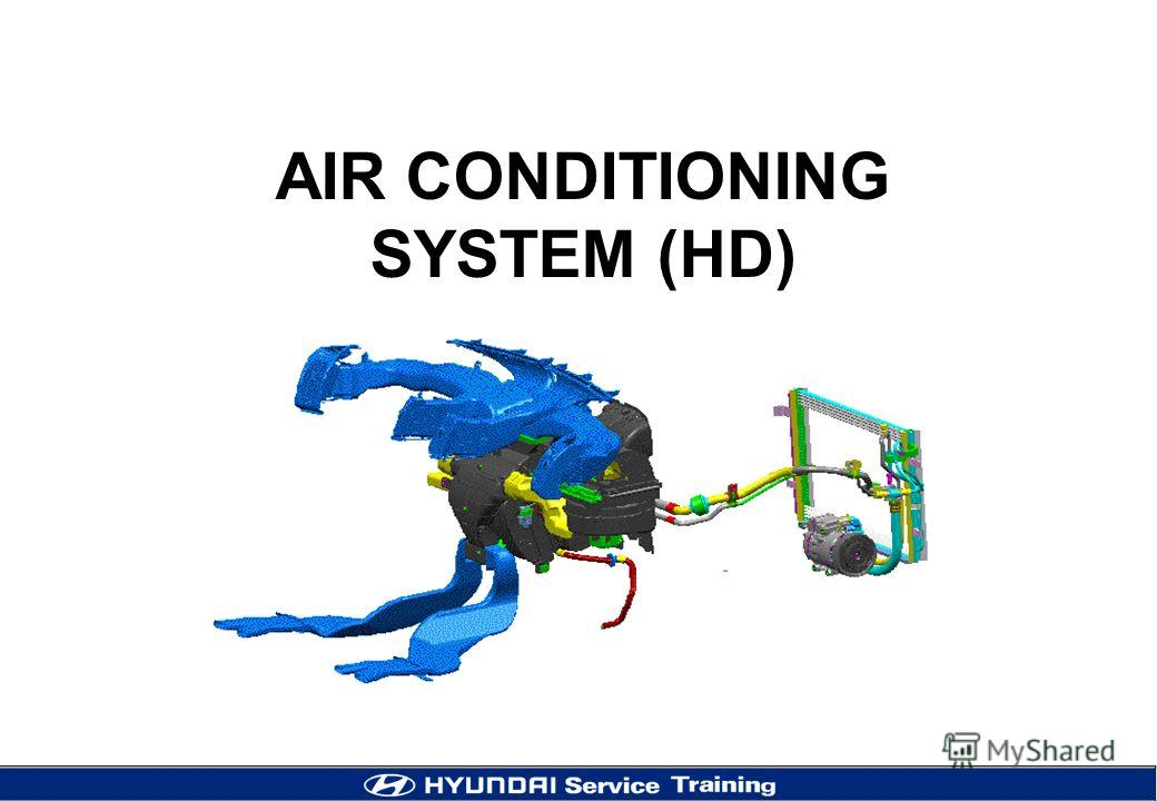 AIR CONDITIONING SYSTEM (HD)