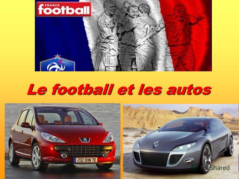 Le football et les autos