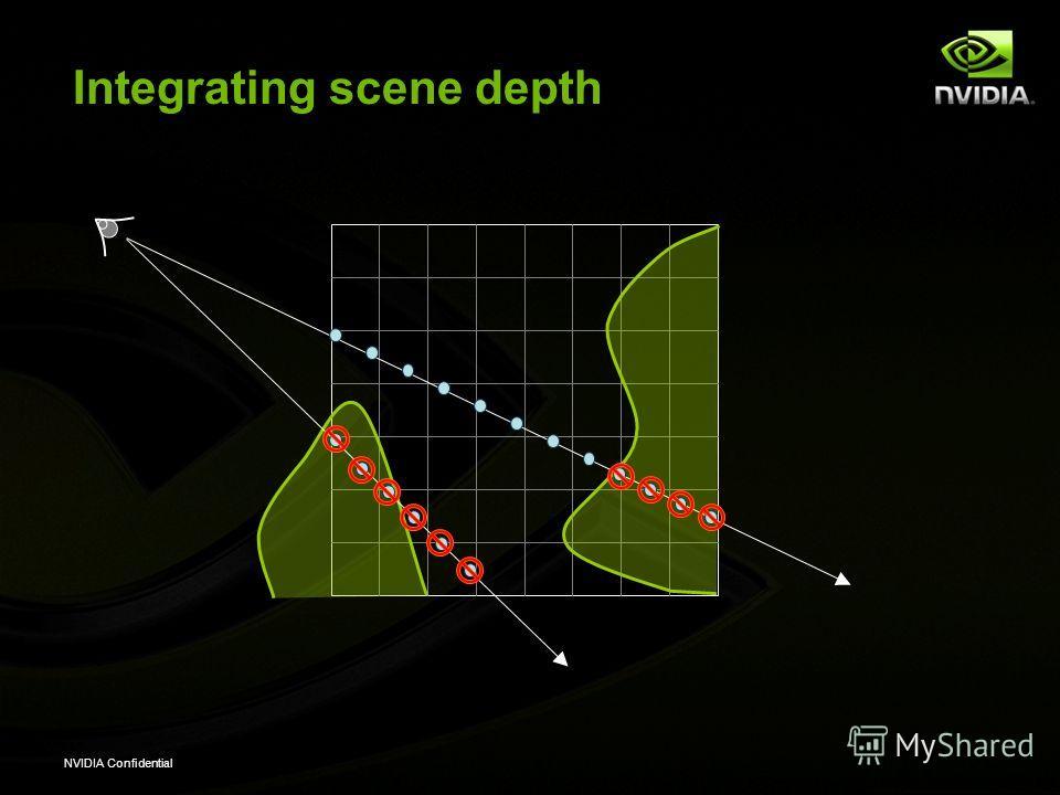 NVIDIA Confidential Integrating scene depth