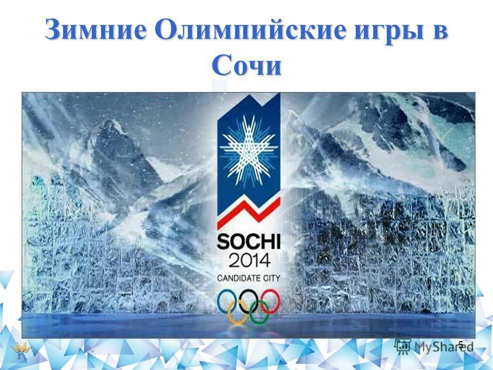 Зимние Олимпийские игры в Сочи 5