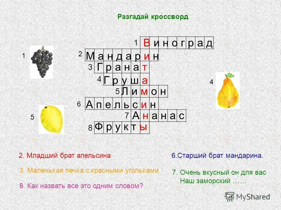 Соедини название фруктов с рисунком яблоко груша лимон виноград