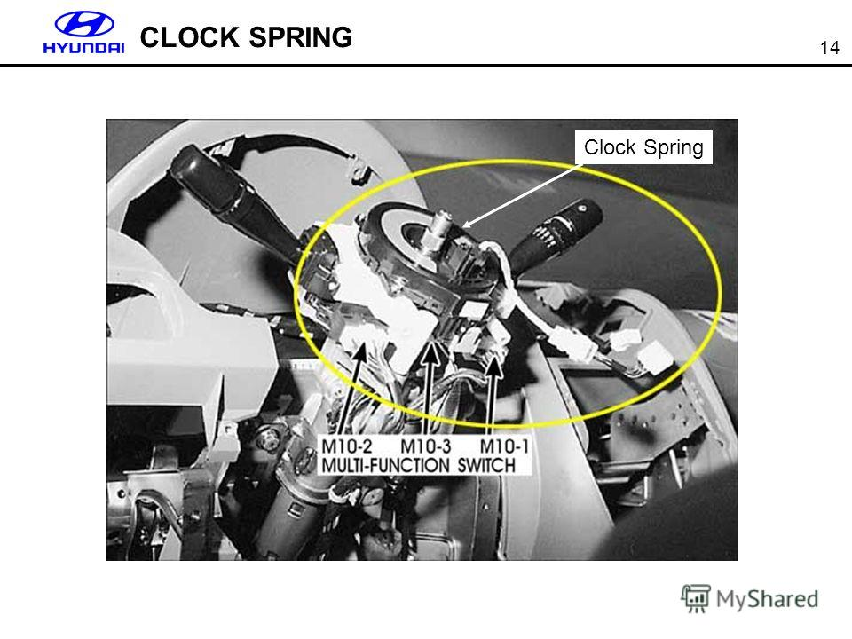 14 CLOCK SPRING Clock Spring