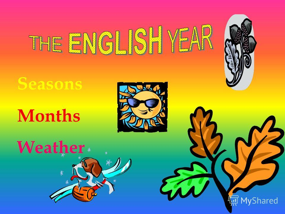 Seasons Months Weather