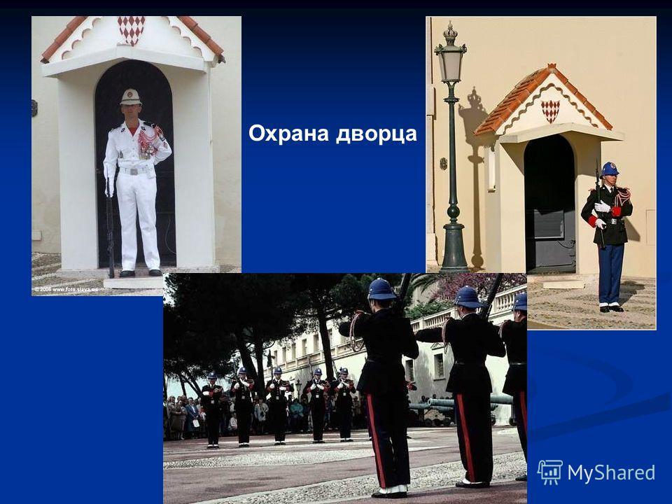 Охрана дворца
