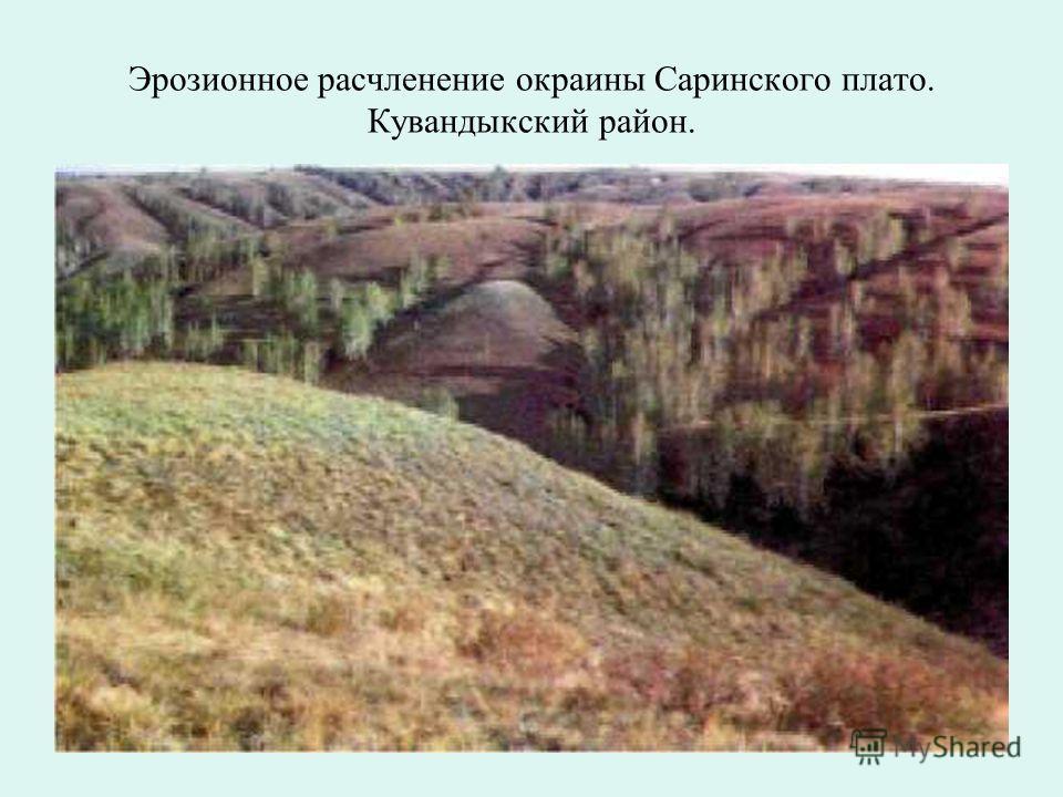 Гребневидные выходы метаморфических пород в долине реки Чебаклы. Гайский район.