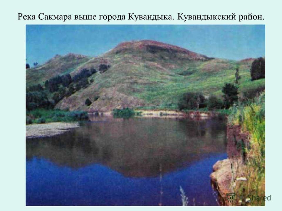 Катрала - одна из самых чистых речек Оренбуржья. Кувандыкский район.