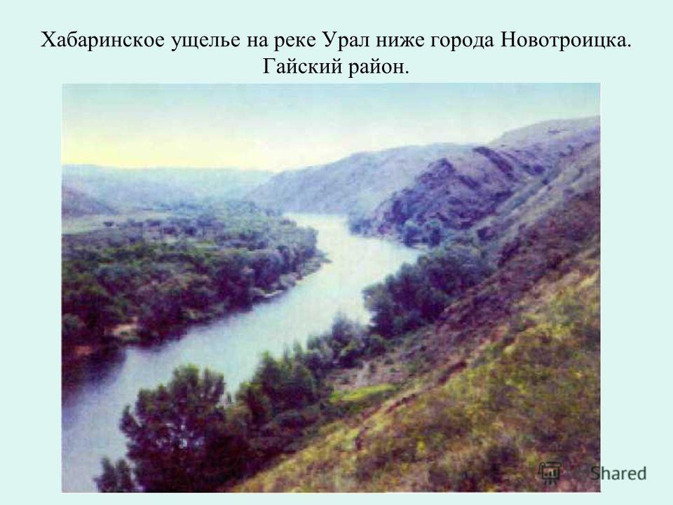 Маячный затон на реке Урал. Беляевский район.