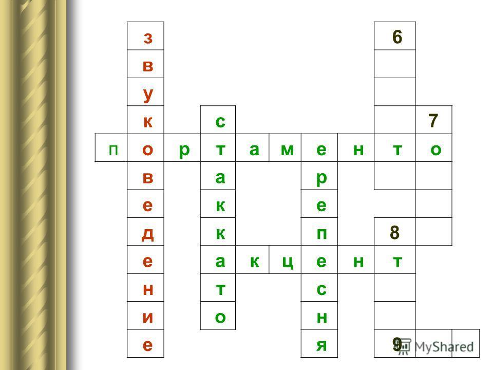 з 6 в у к с 7 п о р т а м е н т о в а р е к е д к 5 п 5 п 8 е а к ц е н т н т и о е 9
