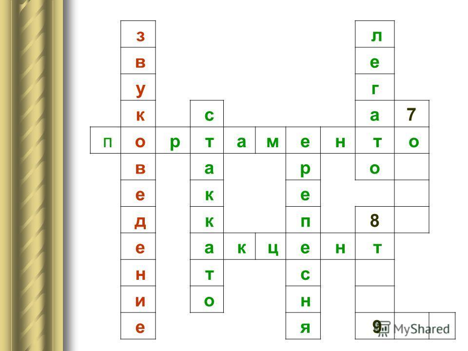 з 6 в у к с 7 п о р т а м е н т о в а р е к е д к п 8 е а к ц е н т н т с и о н е я 9