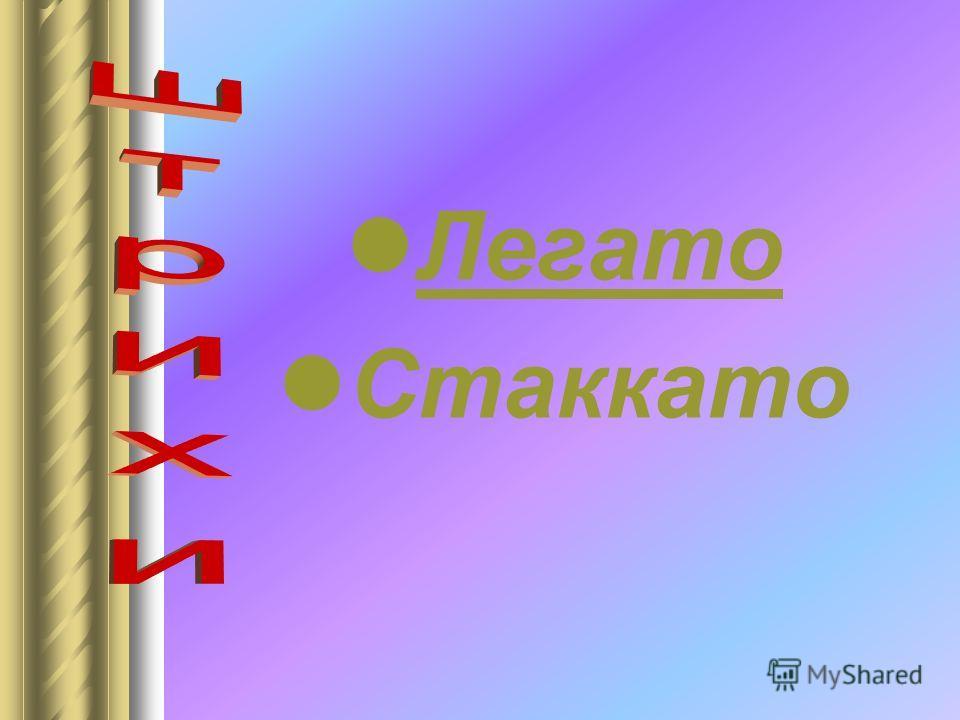 Жанр Динамика Тесситура Ритм Темп Лад Звуковедение