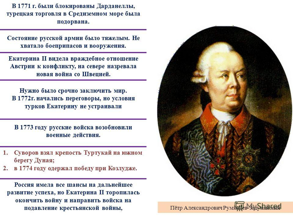 Пётр Александрович Румянцев-Задунайский