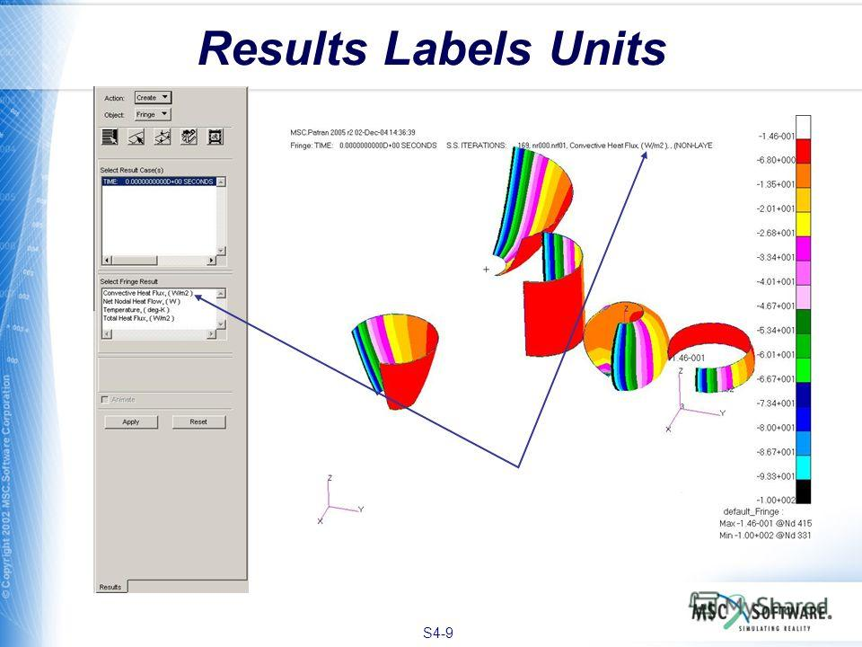 S4-9 Results Labels Units