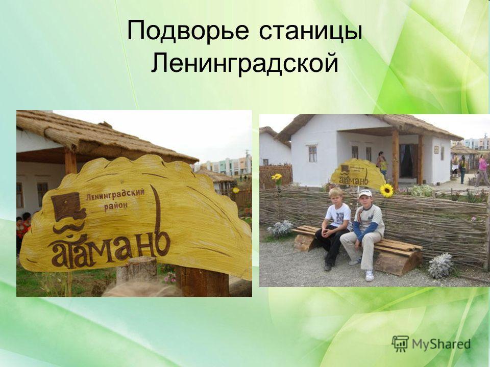 Подворье станицы Ленинградской