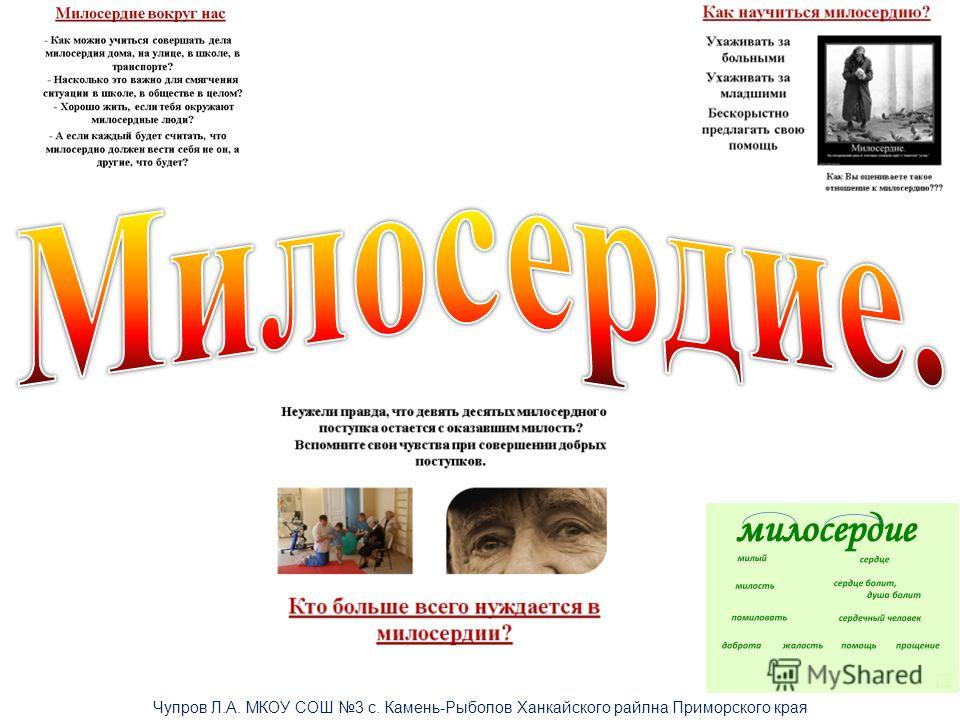 Чупров Л.А. МКОУ СОШ 3 с. Камень-Рыболов Ханкайского райлна Приморского края