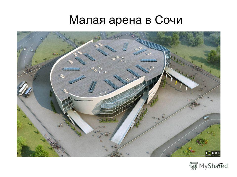 47 Малая арена в Сочи