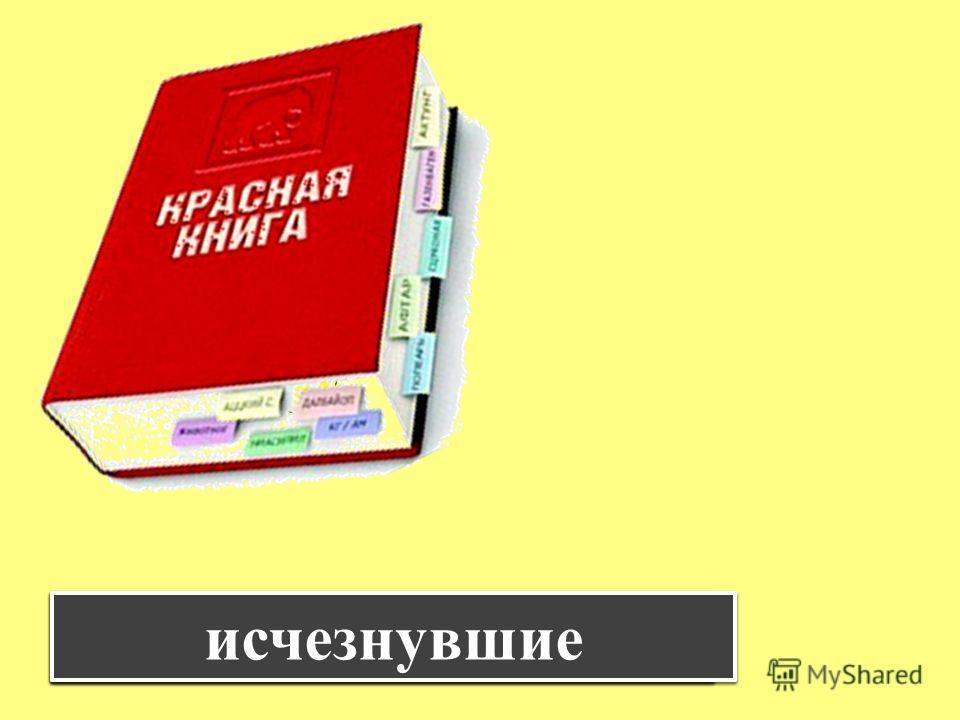знакомство с красной книгой 1 класс